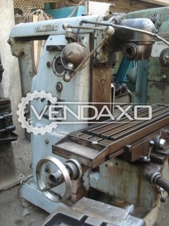 Alcera GOL MUDI Universal Milling Machine - Table Size - 1500 x 300 mm