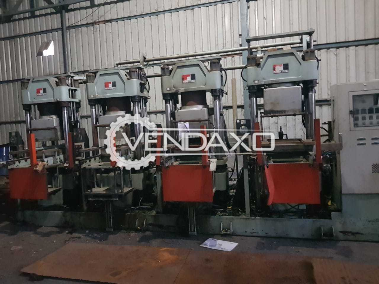 Hydraulic Rubber Moulding Machine  - Bed Size - 500 x 400 mm
