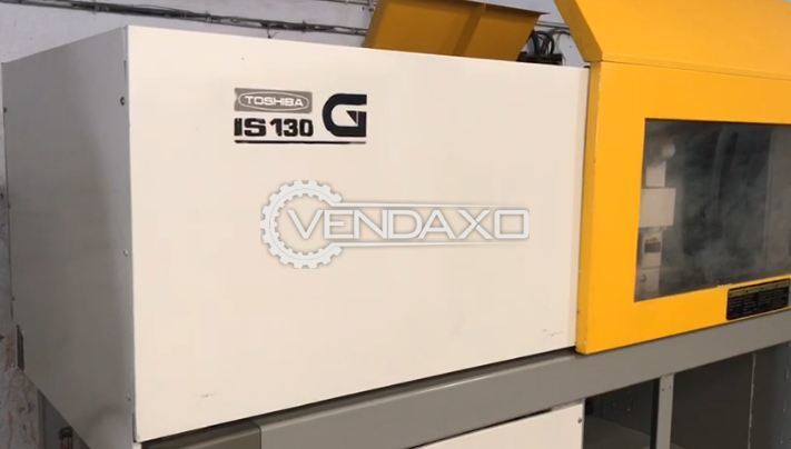 Toshiba IS-130G Injection Moulding Machine - 130 Ton