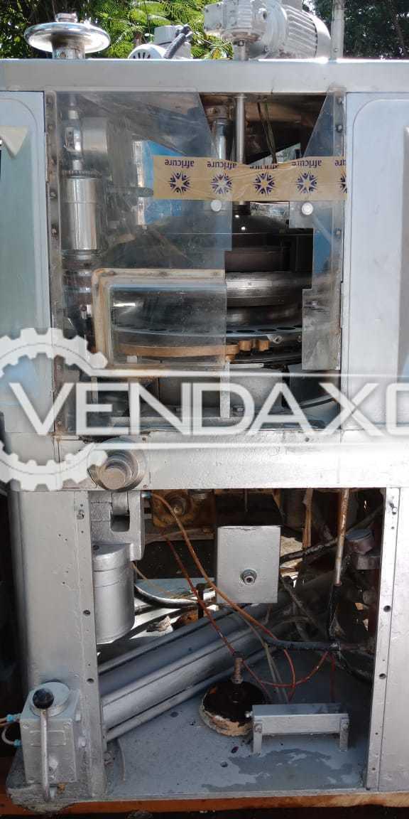 Cadmach Make 37 D Tooling Tablet Press Machine - 37 Station