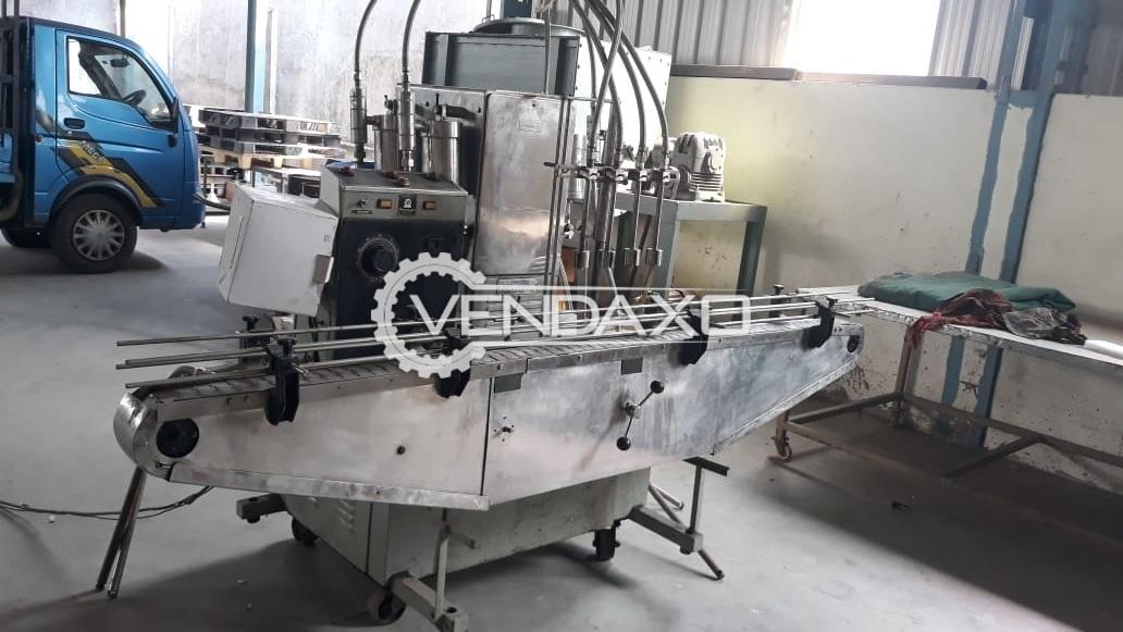 Liquid Capsule Filling Machine - 500 ML to 1 Liter, Size 1