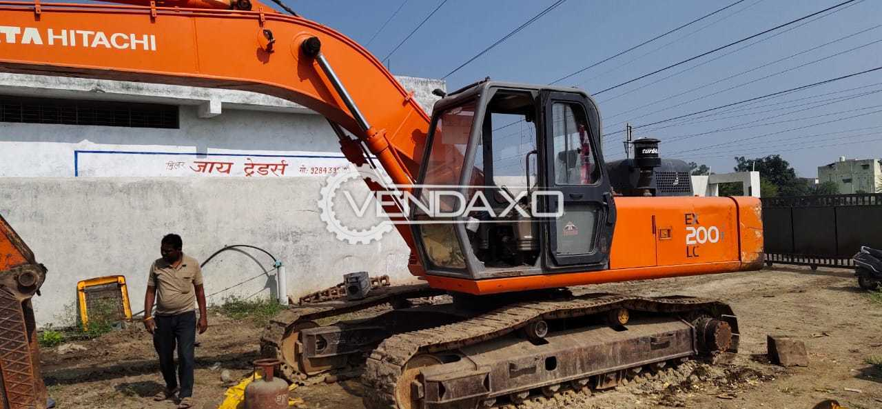Tata Hitachi EX200 LC Excavator - Power - 131 HP, 2012 Model