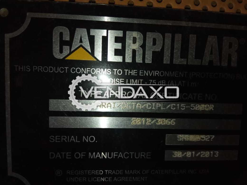 Caterpillar Diesel Generator - 500 kVA, 2013 Model
