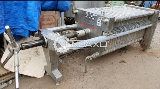Indian Make Filter Press - 24 Plate, 30 Inch