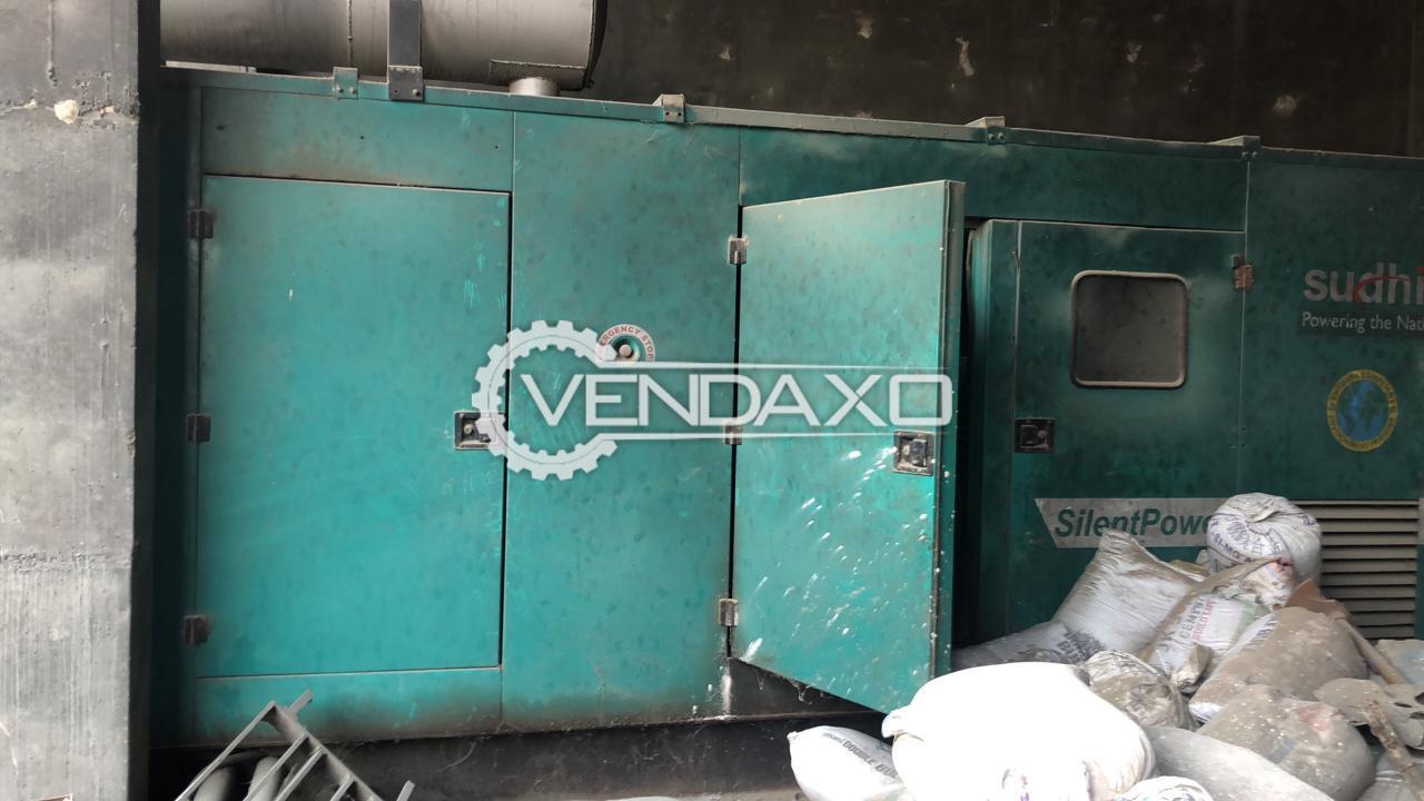 Cummins Sudhir Diesel Generator - 500 Kva, 2013 Model
