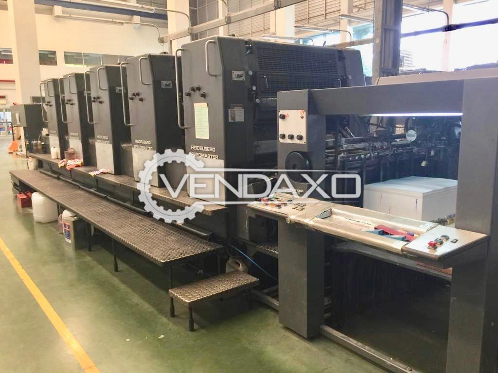 Heidelberg SM 102-F Offset Printing Machine - 72 x 102 CM, 5 Color