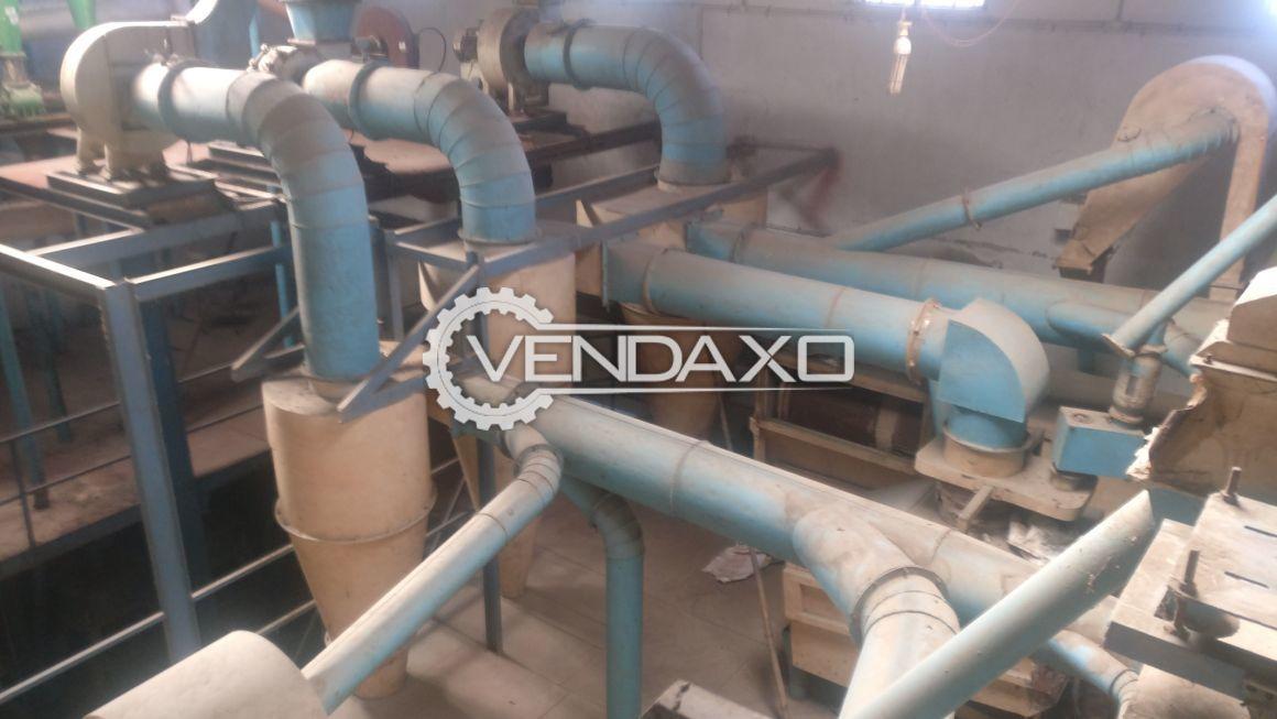 Fully Automatic Atta/Flour Mill (10 Chakki) & Sattu Plant (4 Chakki)