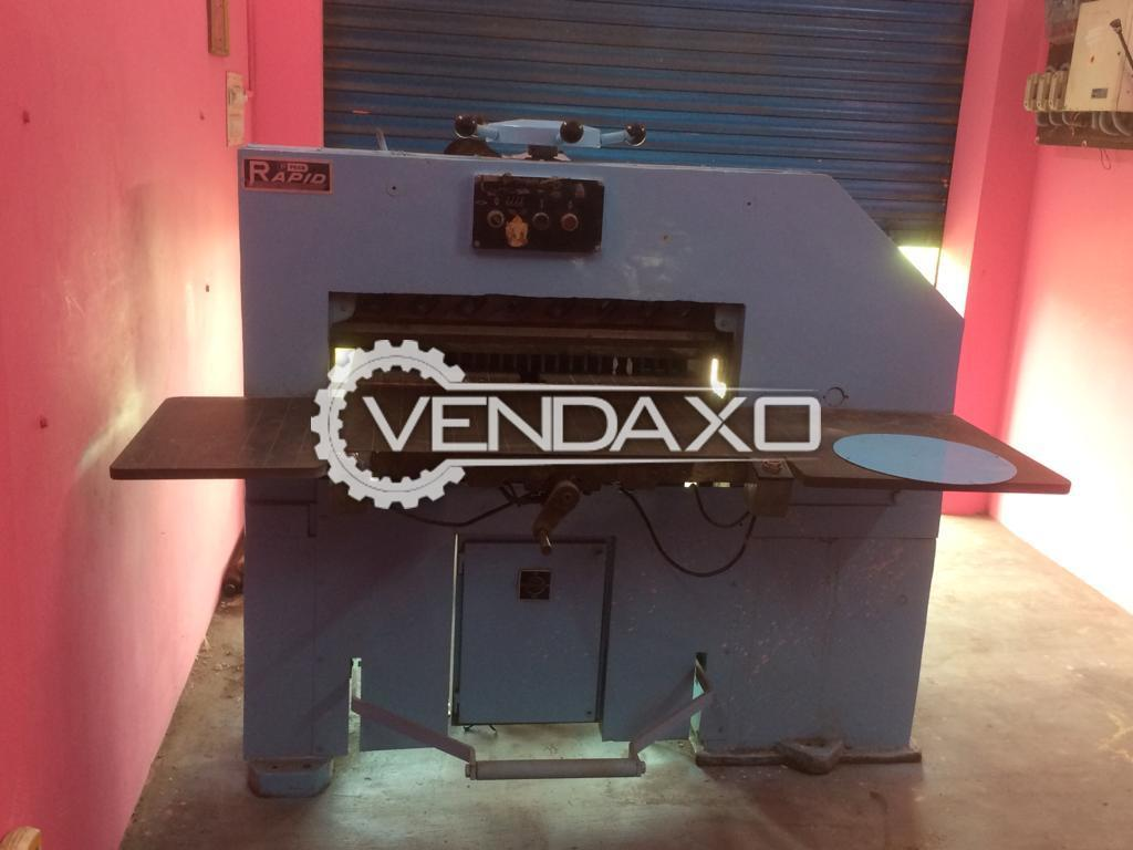Peco Rapid Paper Cutting Machine - Size - 62 Inch