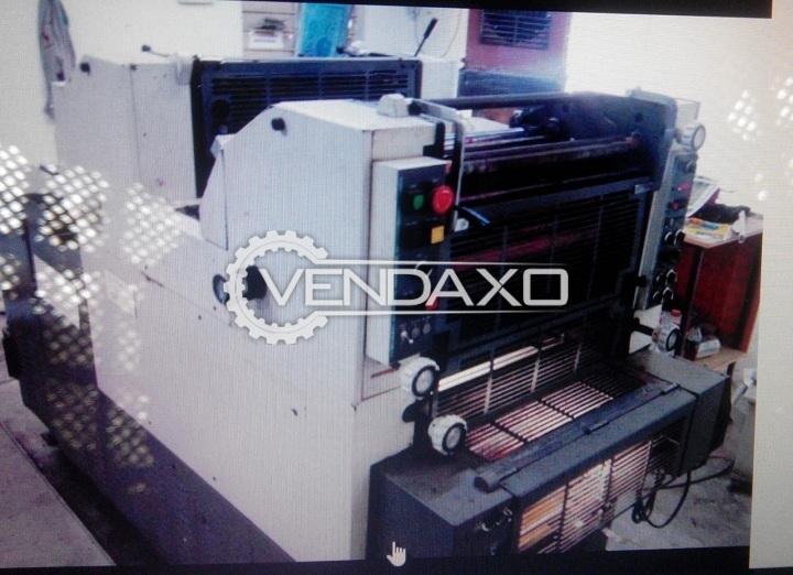 Hamada 248E Offset Printing Machine - 14 x 19 Inch, 2 Color