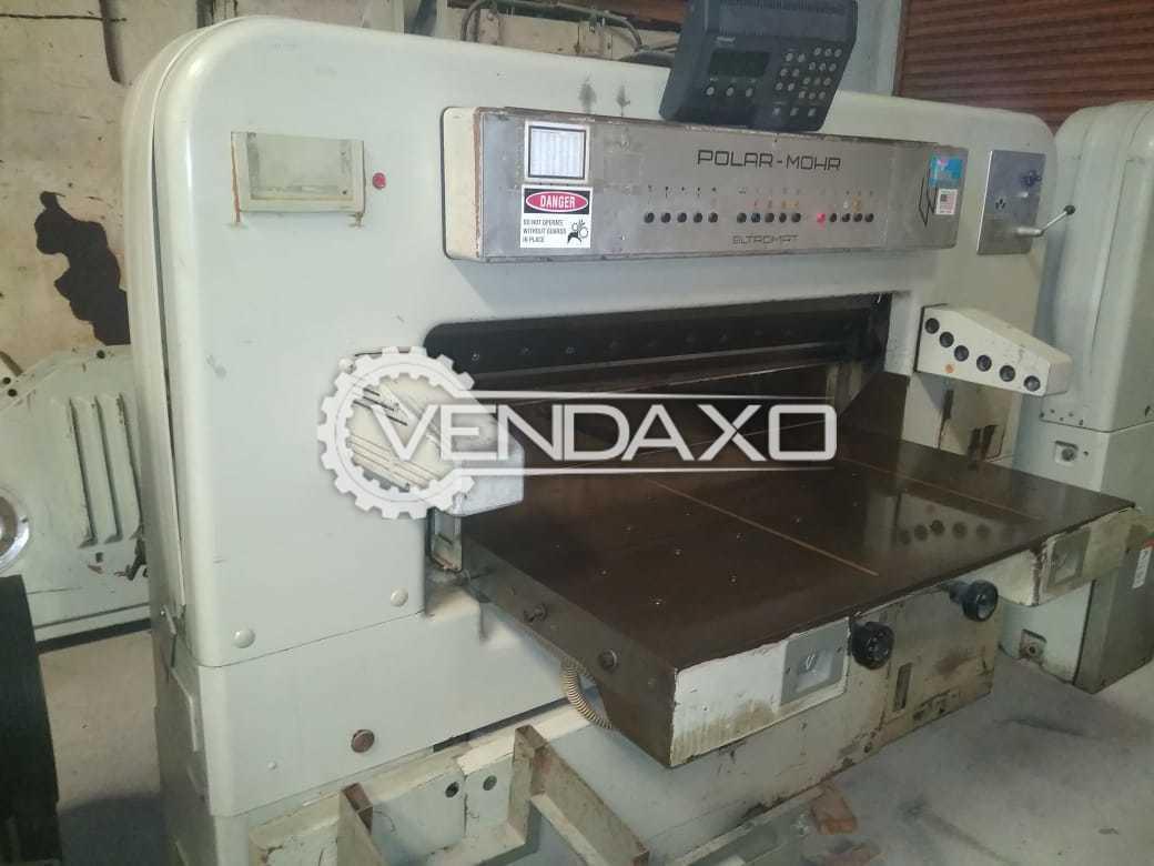 Polar Mohr Eltromat Paper Cutting Machine - Size - 45 Inch