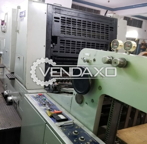 Akiyama Hi Ace 232 Offset Printing Machine -  22 x 32 Inch, 2 Color