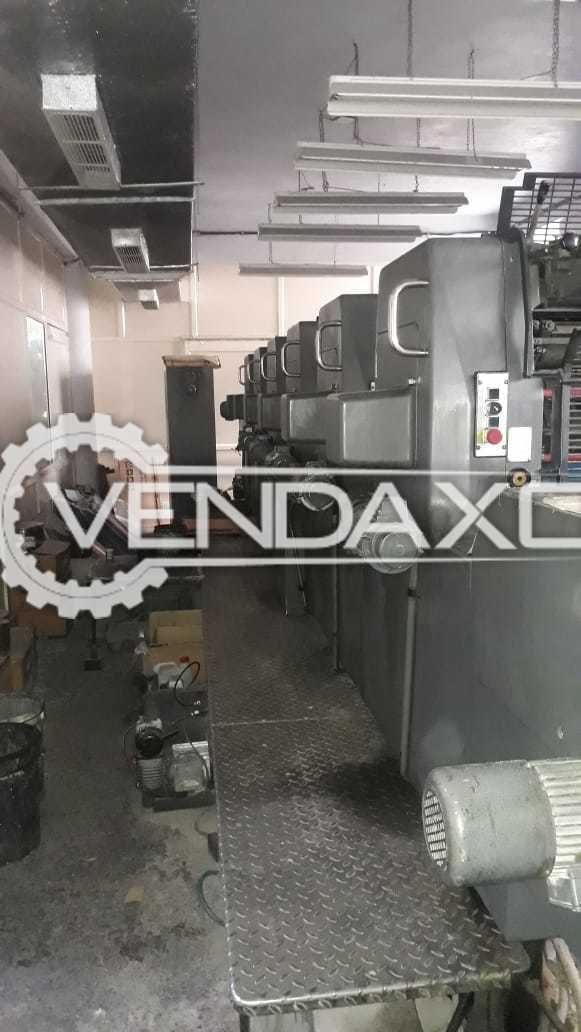 Heidelberg MOSH Offset Printing Machine - 19 x 25 Inch, 6 Color