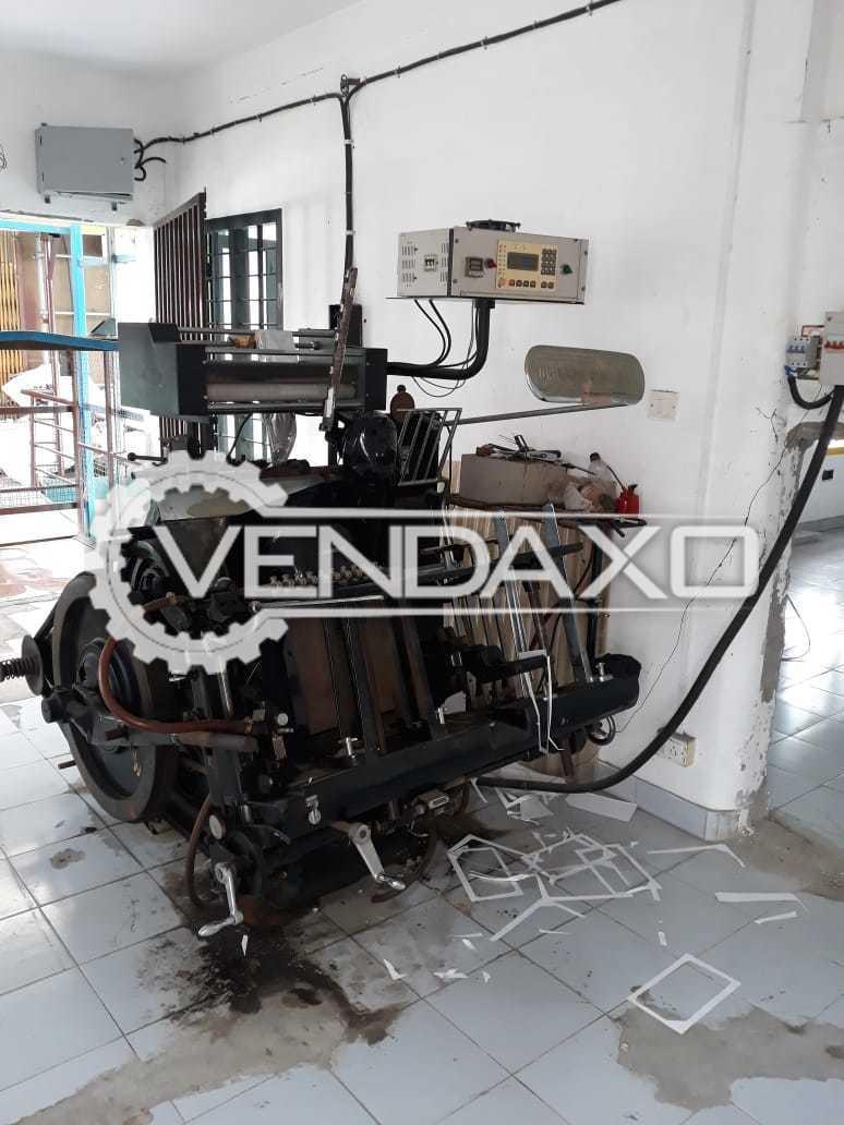 Heidelberg Windmill Platen Press Machine - Size - 12 x 18 Inch
