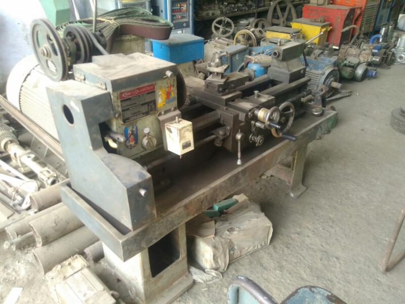 Used lathe machine 4 ft rajkot