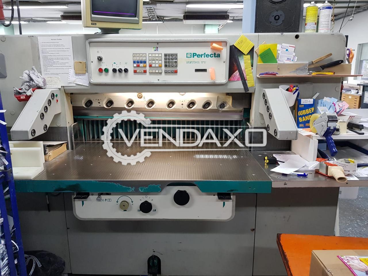 Perfecta Seypa 115 TV Paper Cutting Machine - Size - 45 Inch