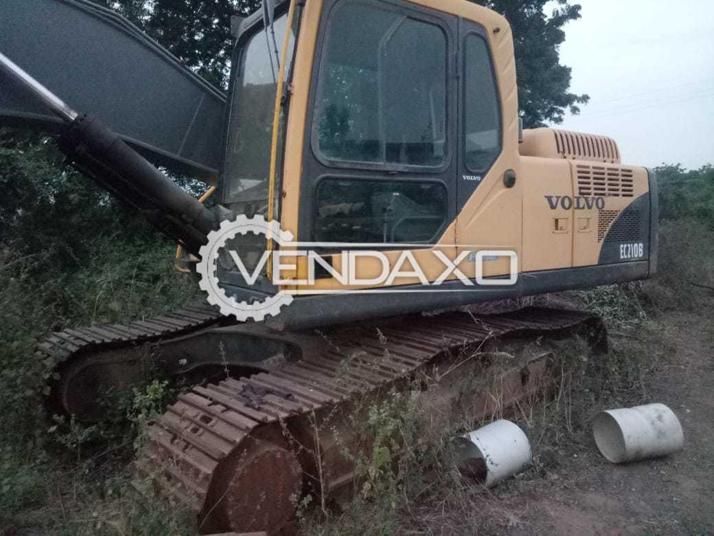 Volvo EC210B Prime Excavator - 165 HP, 1800 RPM
