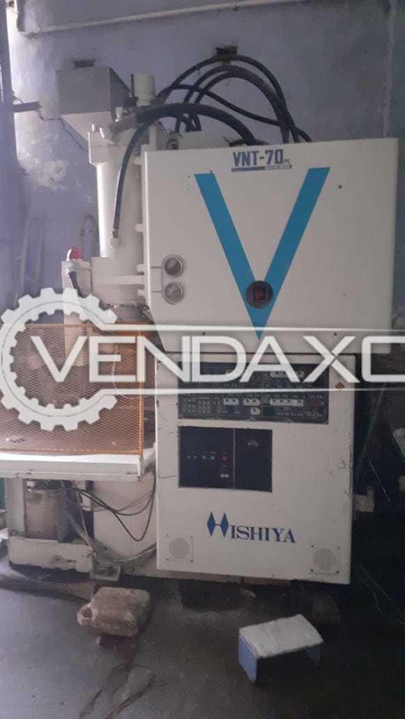 Hishiya VNT-70R Injection Moulding Machine - 70 Ton