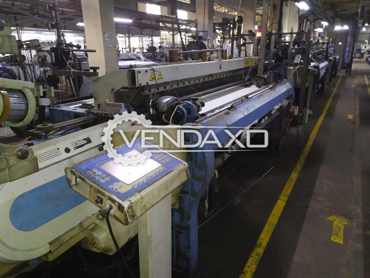 2 Set OF Sulzer G6300 Rapier Loom Machine - Width - 190 CM
