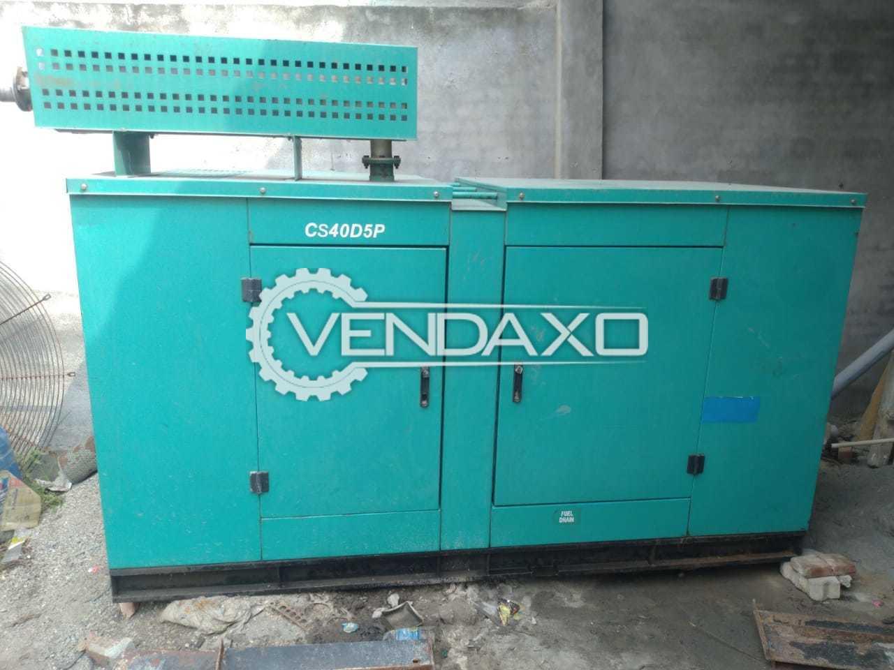 Cummins Silent Diesel Generator - 40 Kva, 2006 Model