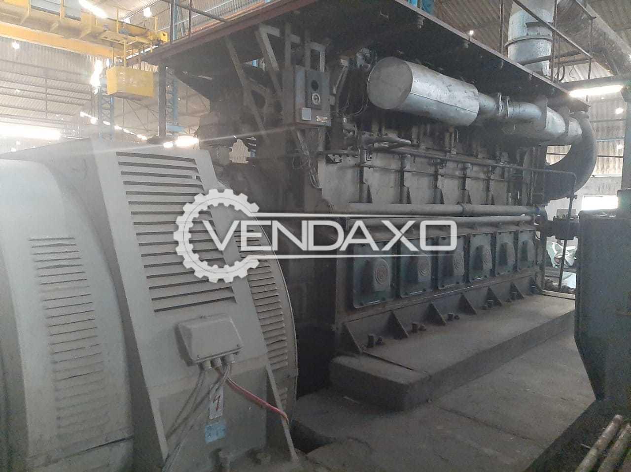Danvious Make Diesel Generator - 2270 Kva
