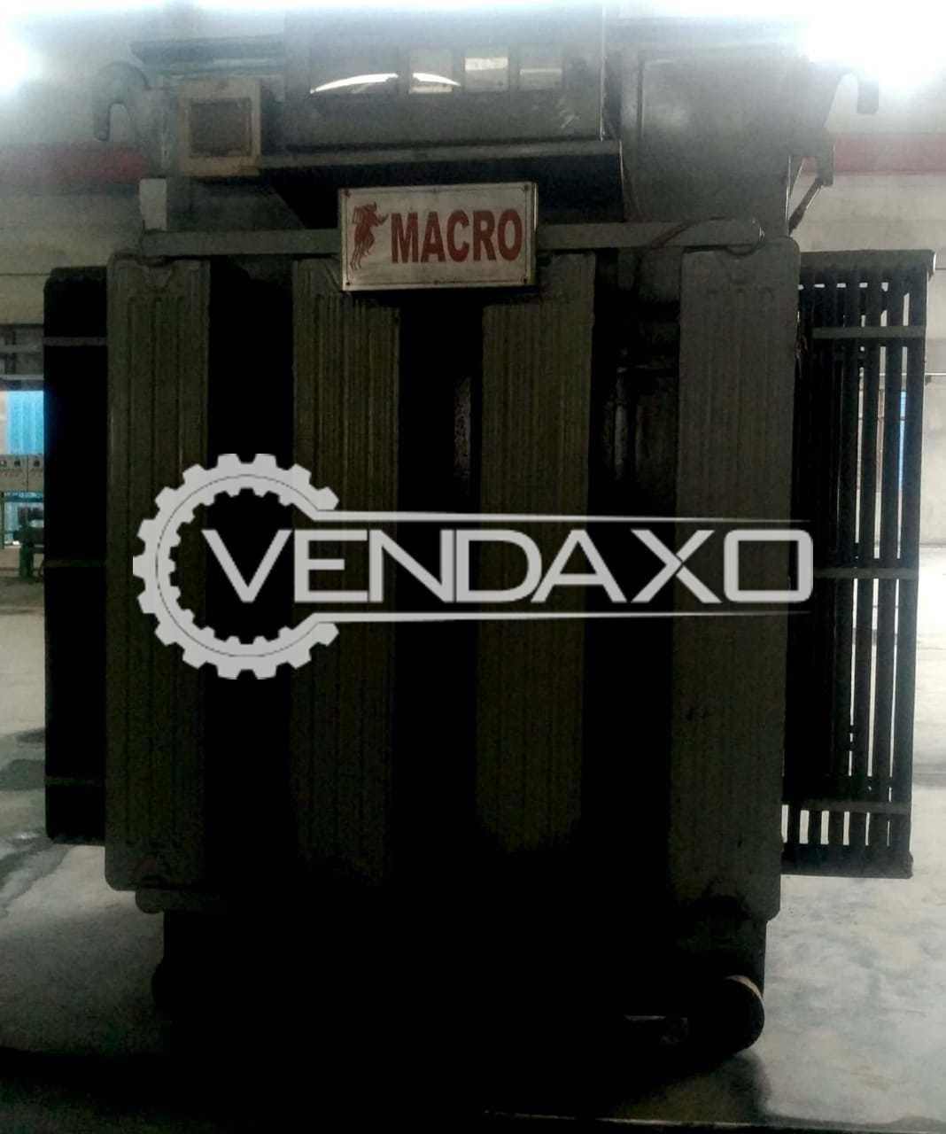 Macro Silent Diesel Generator - 1010 Kva