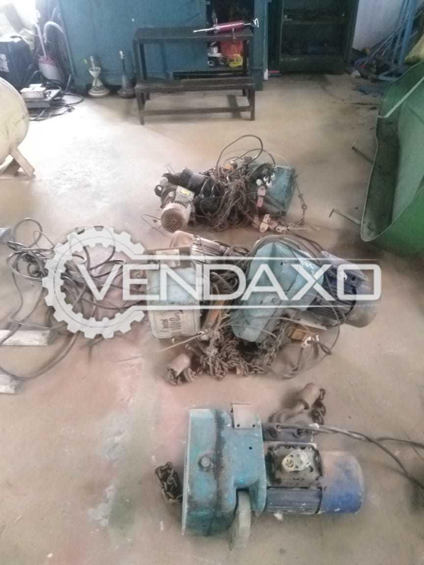 Indef Make Chain Type Hoist - 1 Ton