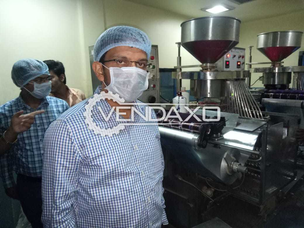 Available For Sale Complete Setup of a healthcare unit including GMP model strip packing machine - High Speed Rotary Tablet press - Rotary Seal Machine and more