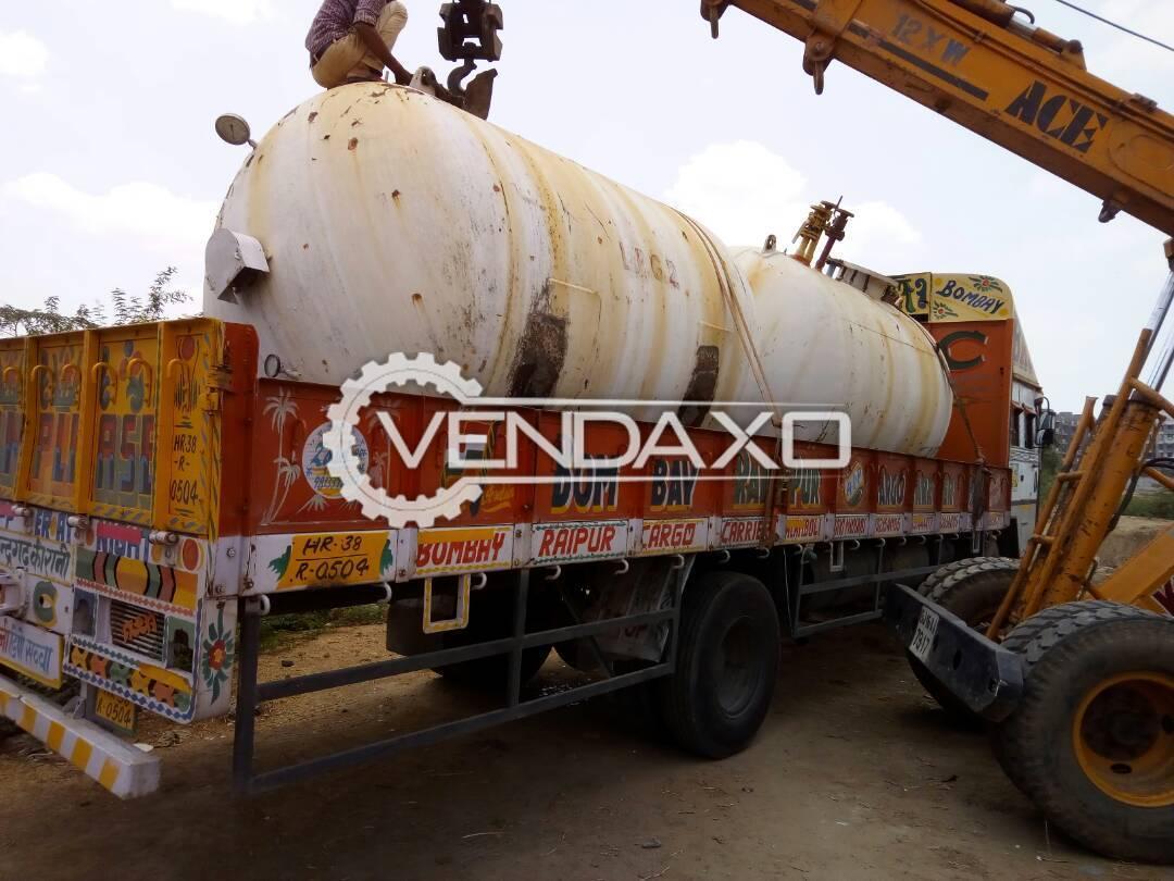 MS Gas Storage Tank - 15 KL