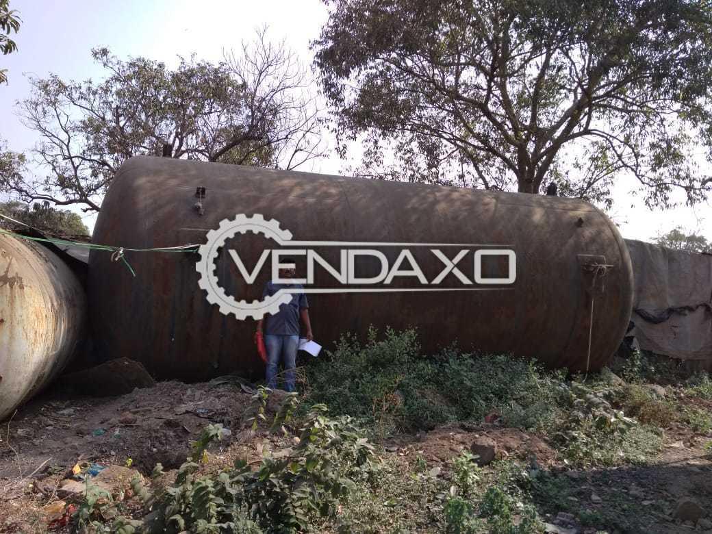 Indian Make Horizontal Cylindrical Dished End Storage Tank - 85 KL