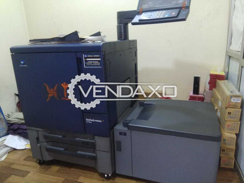 Konica Minolta 71HC Digital Color Printing Machine - 1200 x 1200 DPI x 8 Bit
