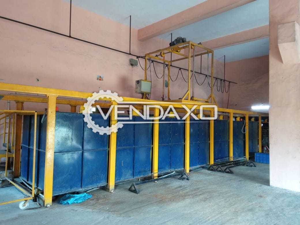 Available For Sale Powder Coating Complete Setup Plant