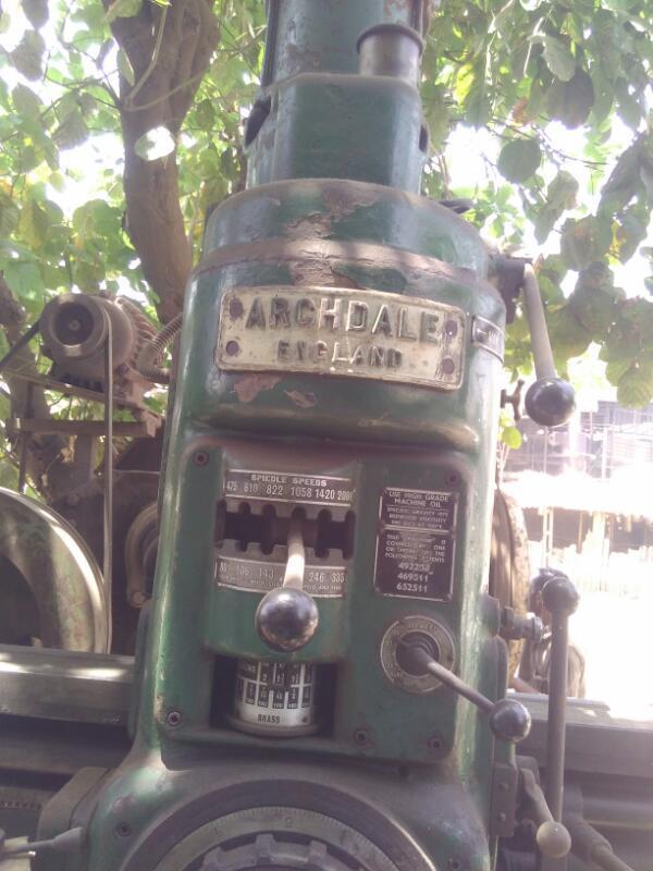 Radial drill 38 mm
