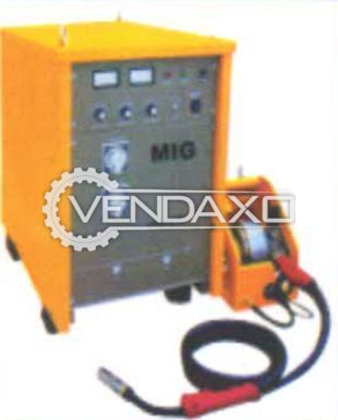 Indus Arc MIG 400I Welding Machine - 400 AMPS, 2013 Model