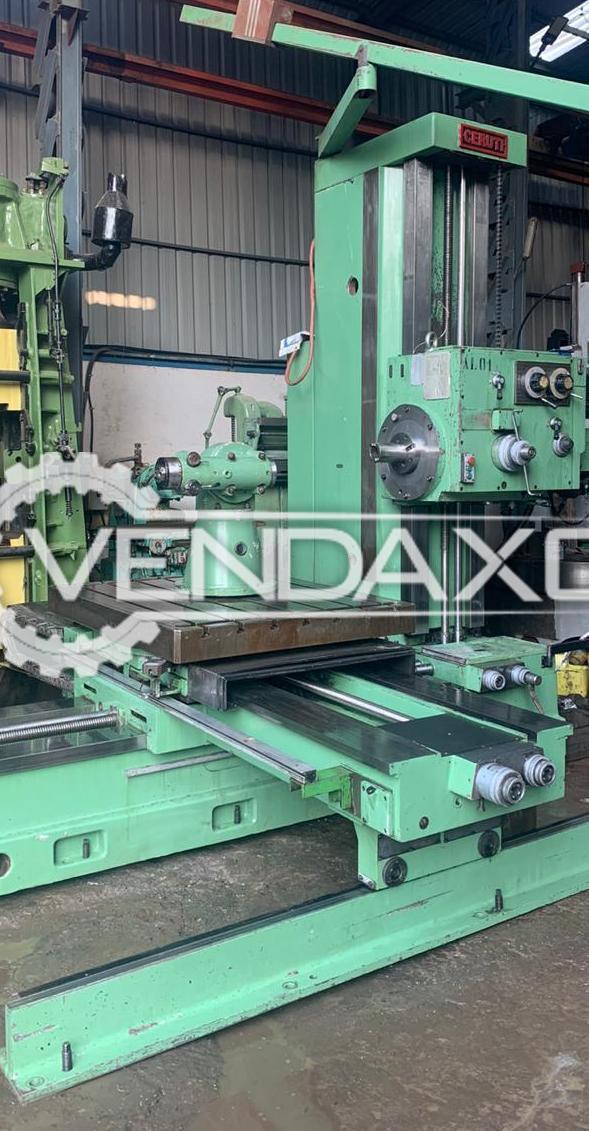 Ceruti AC 105 Boring Machine - Table Size : 1500 x 1200 mm