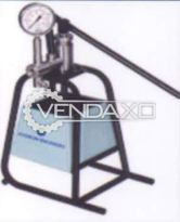 MS Pressure Testing Machine - 50 KG/cm2, 2005 Model