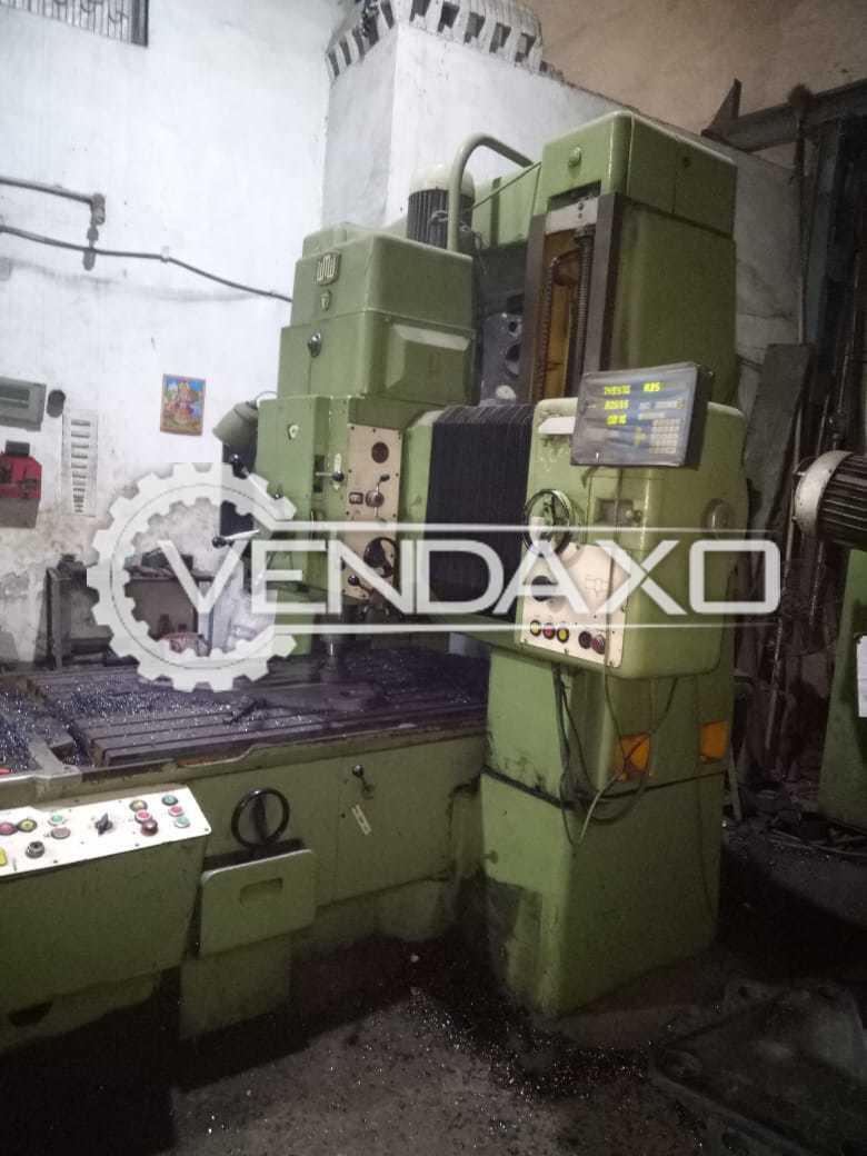 WMW Make Jig Grinding Machine - Capacity : 1500 x 1000 x 800 mm