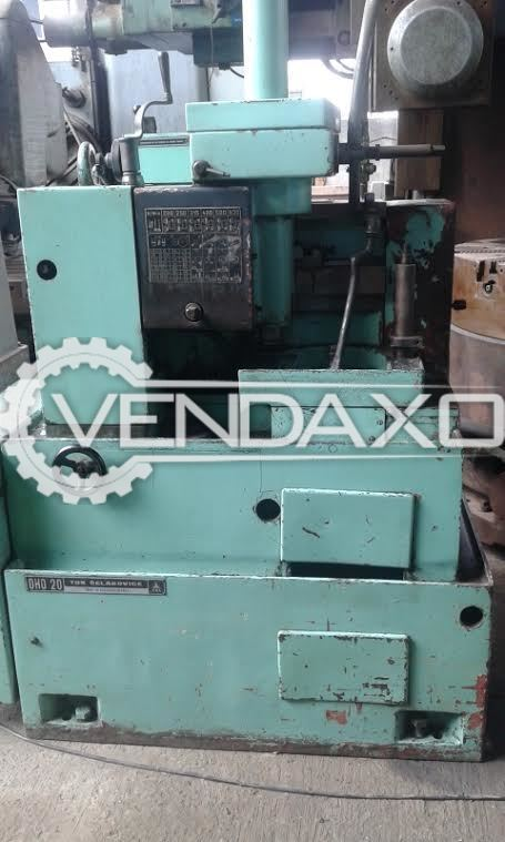 TOS OHO 20 Gear Shaping Machine - Max.Wheel Diameter : 200 mm