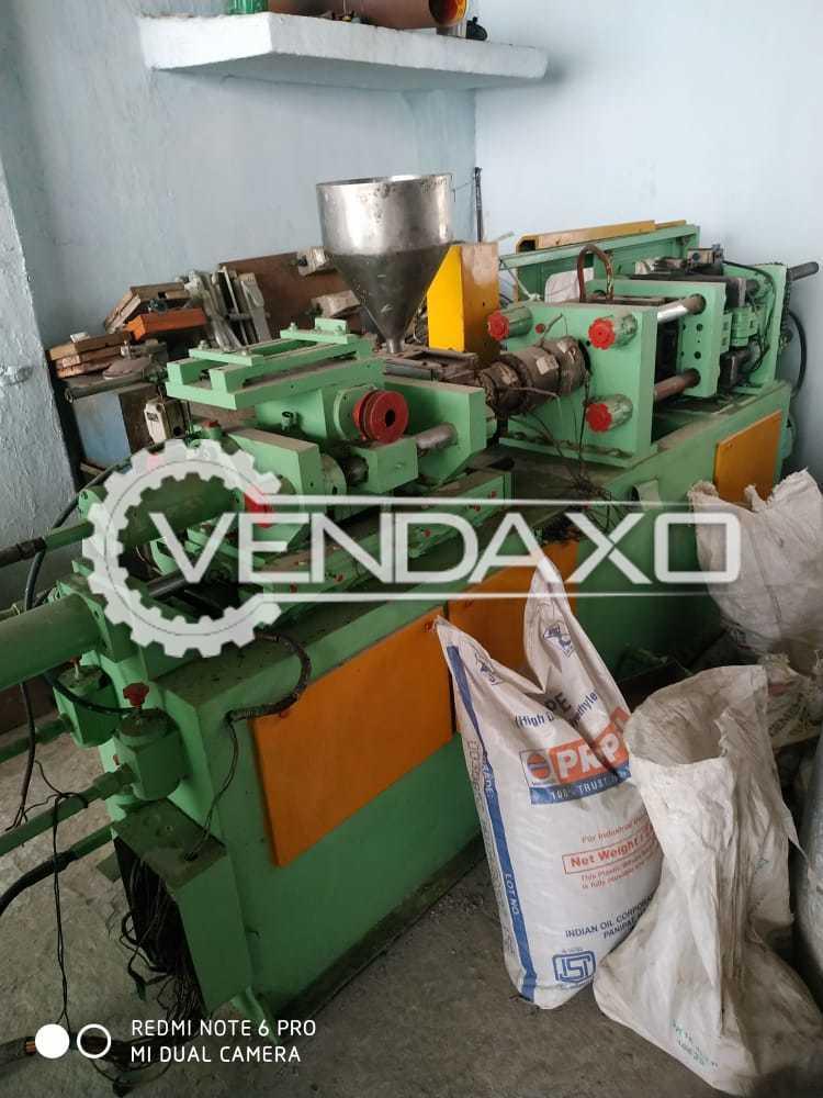 Indian Make Injection Moulding Machine - 100 Gram