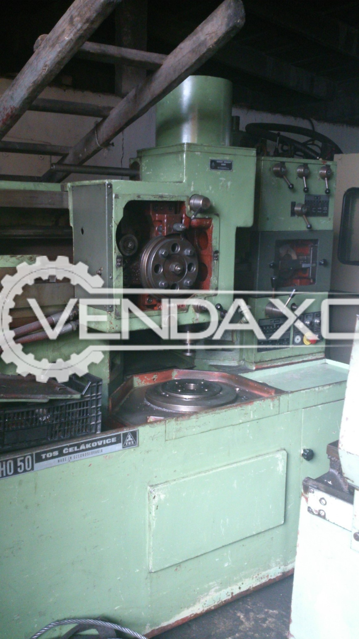 TOS OHO 50 Gear Shaping Machine - Max Wheel Diameter : 500 mm