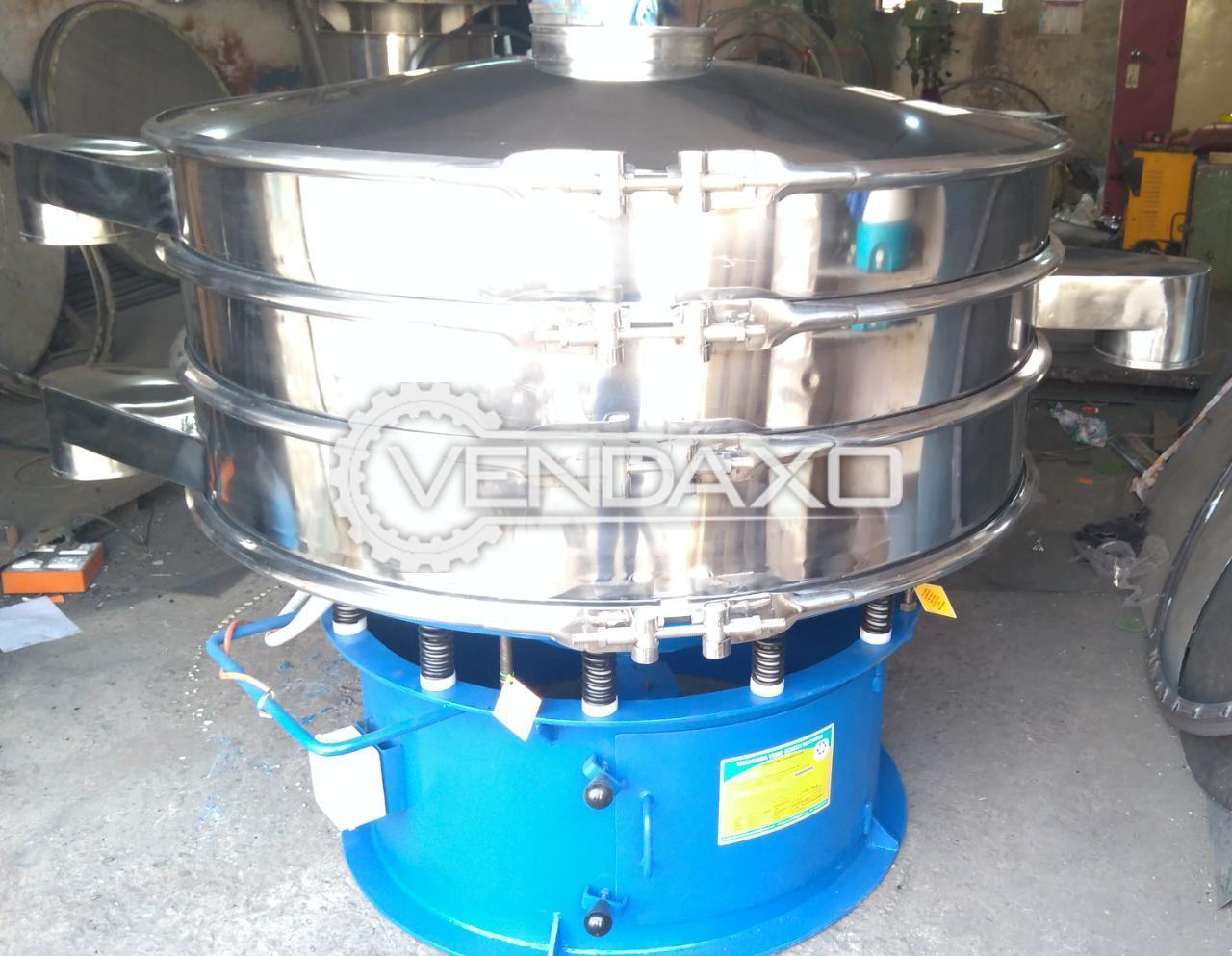 Chamunda Make Vibro Sifter - 48 Inch