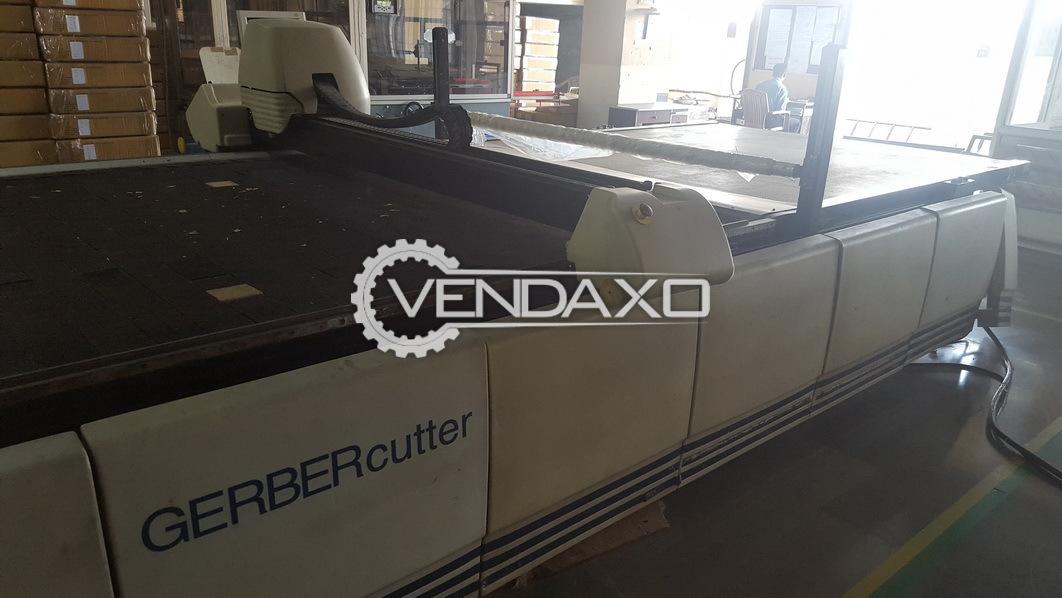 Gerber S-5200-20-S-C Textile Cad/Cam Cutter Machine - 1998 Model
