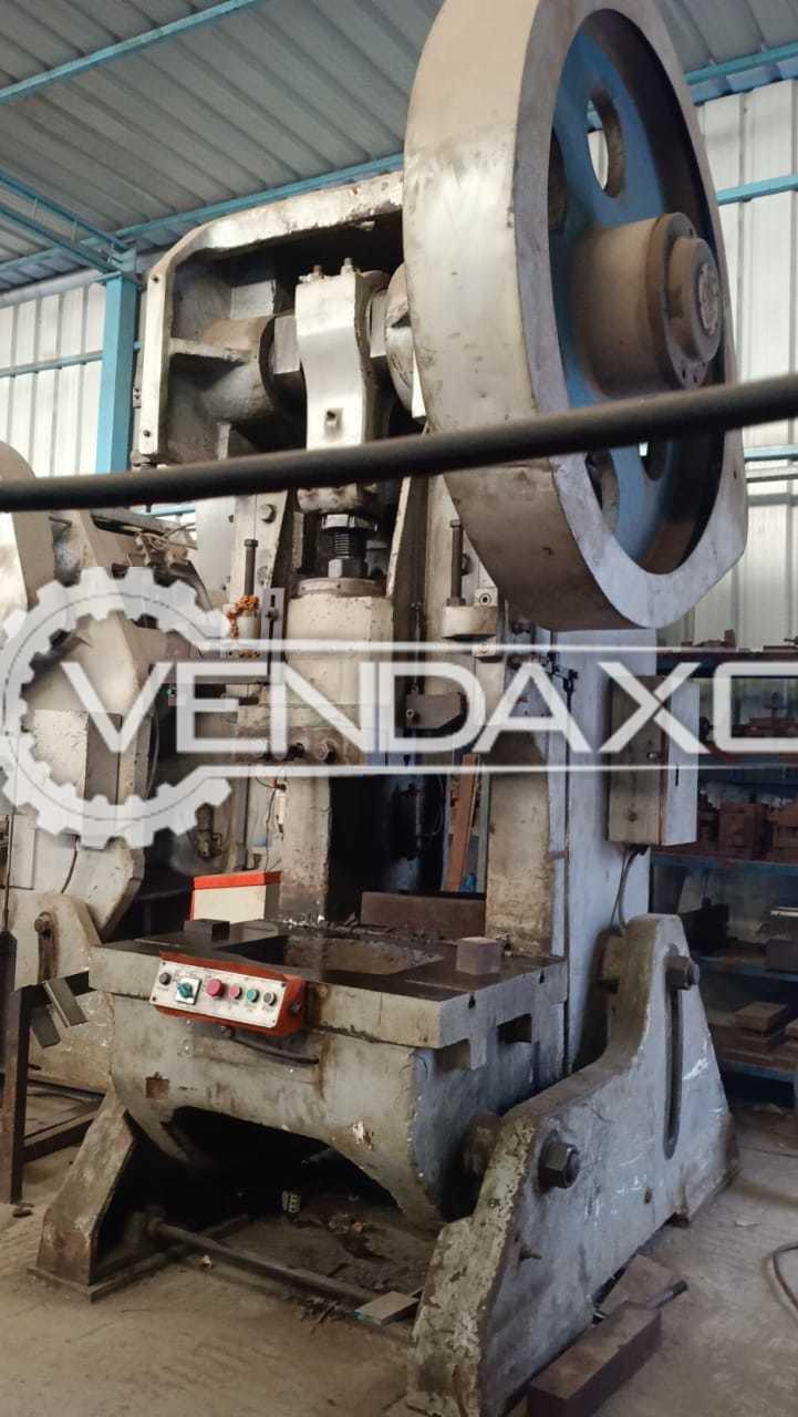 Rutland Make Press Machine - Capacity : 63 Ton