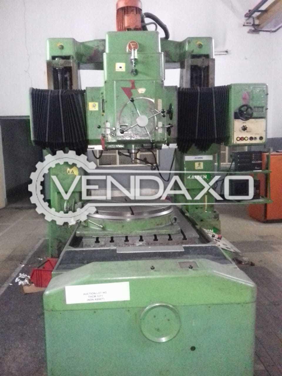 TOS WKV 100 Jig Boring Machine - Table Size : 1600 x 1000 mm