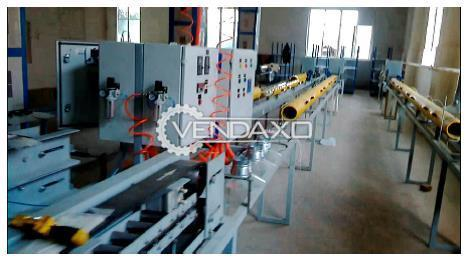 Pultrusion machine for production GFRP rebar