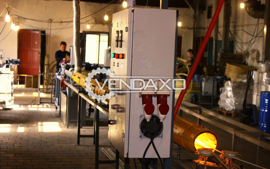 Used Pultrusion machine for production GFRP rebar for Sale