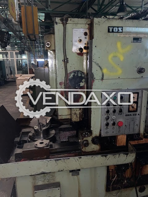 Avaialble For Sale 5 Set OF TOS Used Gear Hobber & Shaping Machine