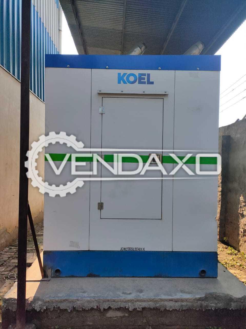 KOEL Diesel Generator - 500 Kva, 2015 Model