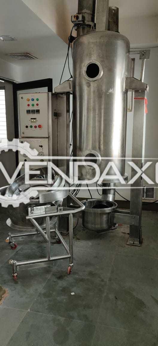 Indian Make GMP Fluid Bed Dryer (FBD) - 30 Kg