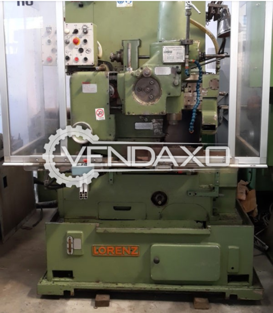Lorenz SJV 00 Gear Shaper Machine - Max.Gear Diameter : 180 mm