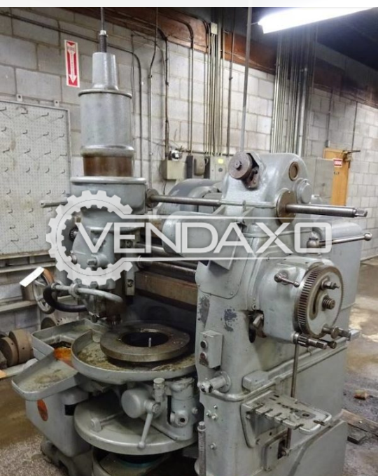 Fellows 6A Gear Shaper Machine - Max.Gear Diameter : 600 mm